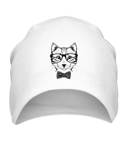 Шапка Кот в очках