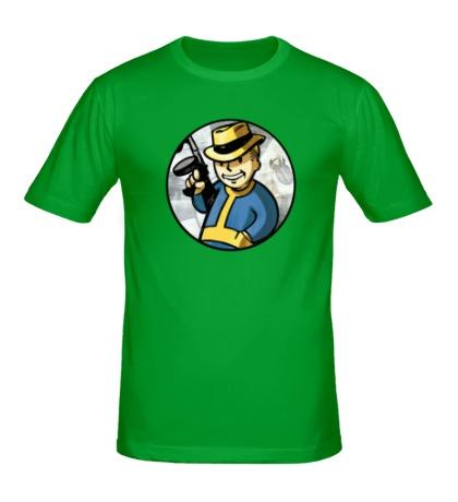 Мужская футболка Fallout Gangster