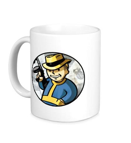Керамическая кружка Fallout Gangster