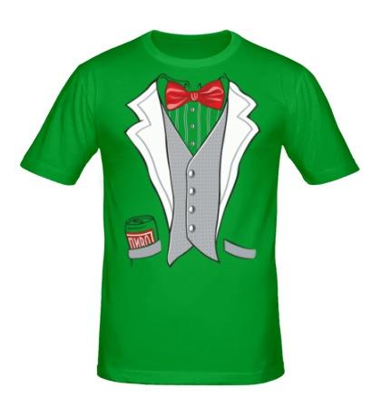 Мужская футболка Костюм мистера
