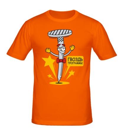 Мужская футболка Гвоздь программы