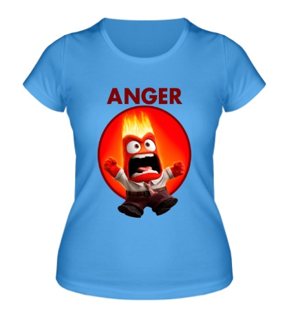Женская футболка Anger Man