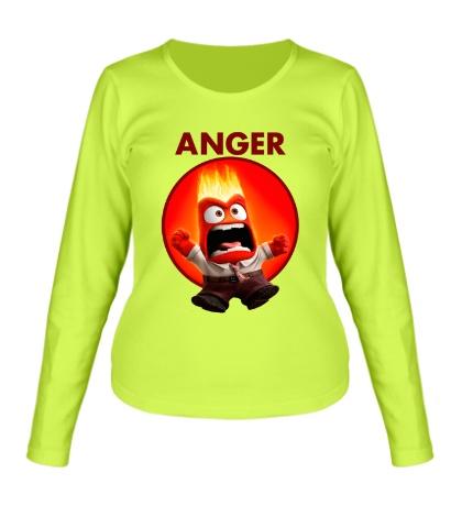 Женский лонгслив Anger Man