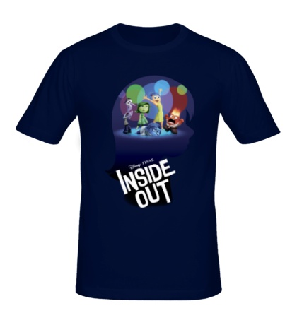 Мужская футболка Inside out