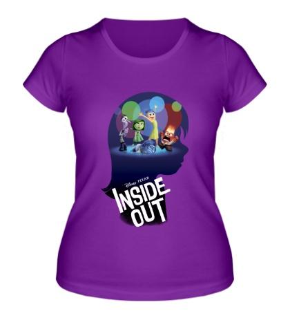 Женская футболка Inside out