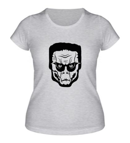 Женская футболка Zombinator