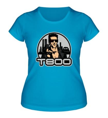 Женская футболка T-800