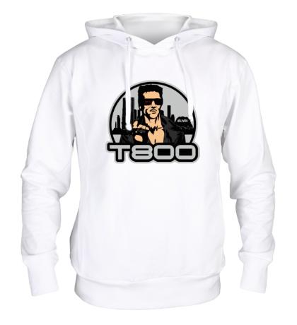 Толстовка с капюшоном T-800