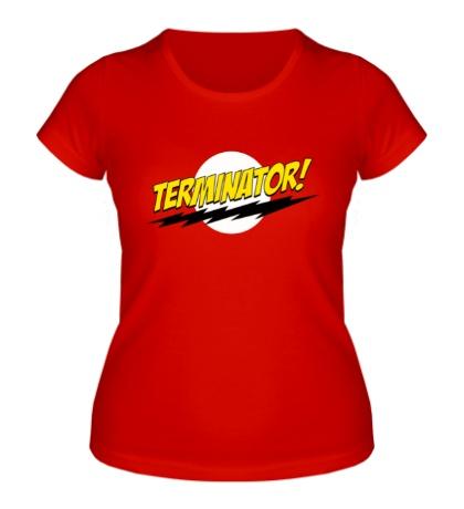 Женская футболка Volt Terminator