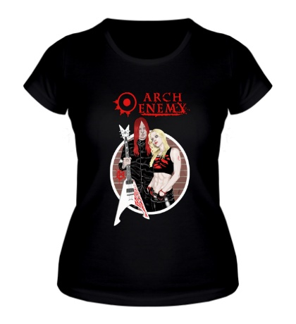Женская футболка Arch Enemy