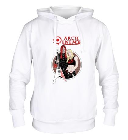 Толстовка с капюшоном Arch Enemy