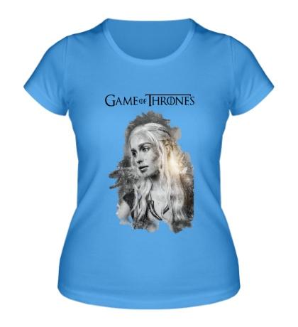 Женская футболка Дейенерис Таргариен