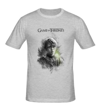 Мужская футболка Арья Старк