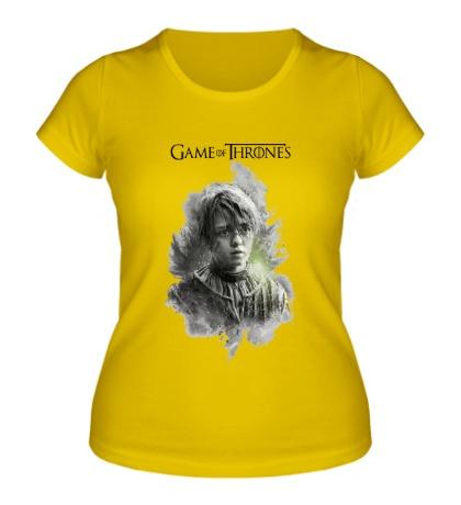 Женская футболка Арья Старк