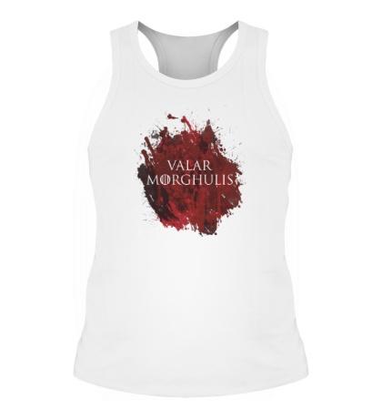 Мужская борцовка Valar Morghulis: blood stain