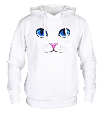 Толстовка с капюшоном «Кошачьи глаза»