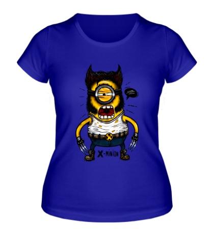 Женская футболка Икс-миньон