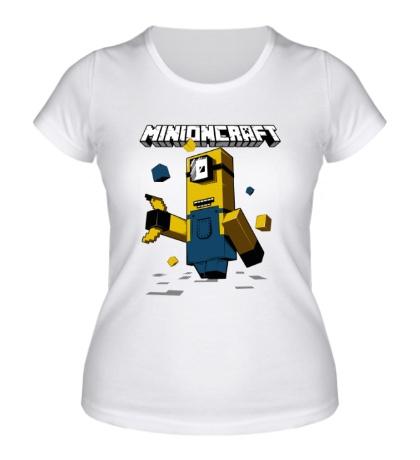 Женская футболка Minioncraft