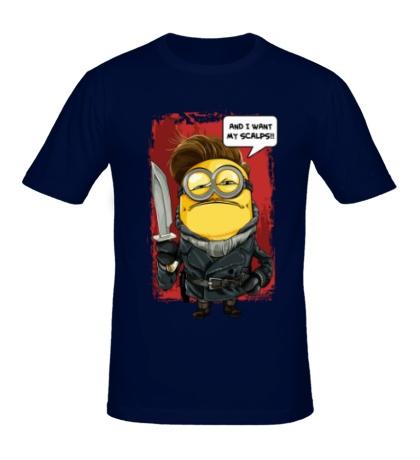 Мужская футболка And i want my scalps!