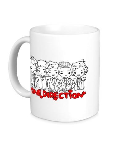 Керамическая кружка One Direction Boys