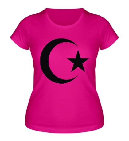Женская футболка Мусульманин