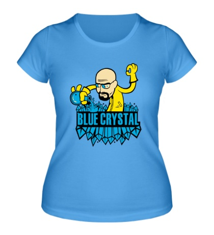 Женская футболка «Blue crystal meth»