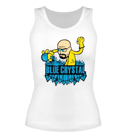 Женская майка Blue crystal meth
