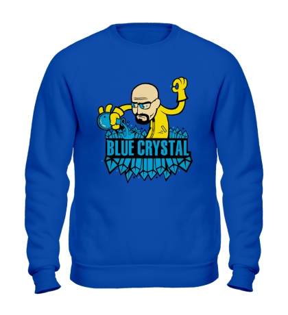 Свитшот Blue crystal meth