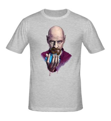 Мужская футболка Heisenberg Blue Meth