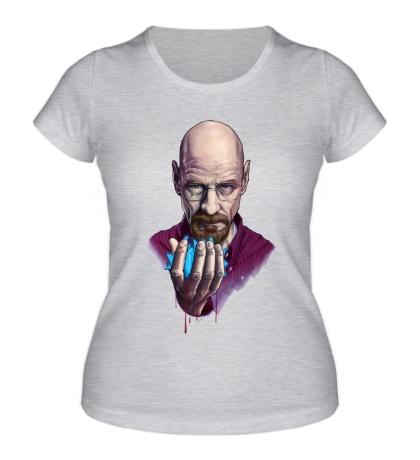 Женская футболка Heisenberg Blue Meth