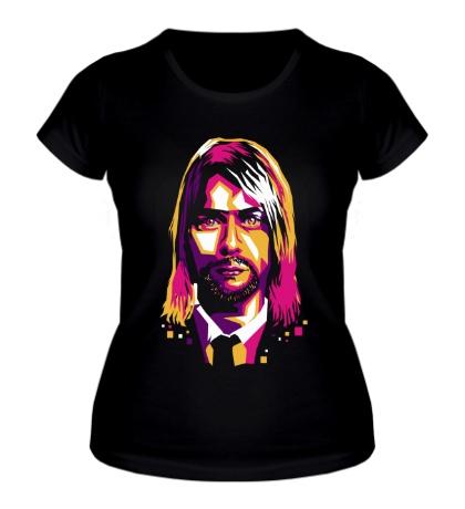 Женская футболка Nirvana: Kurt Cobain