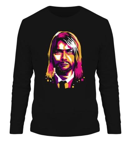 Мужской лонгслив Nirvana: Kurt Cobain