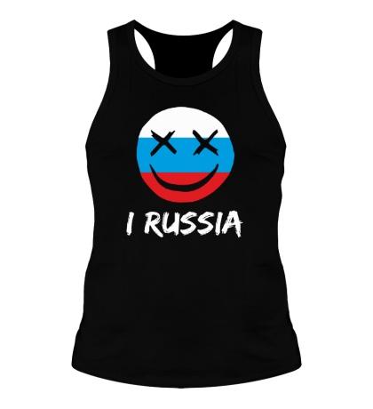Мужская борцовка Русский смайл