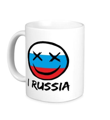 Керамическая кружка Русский смайл