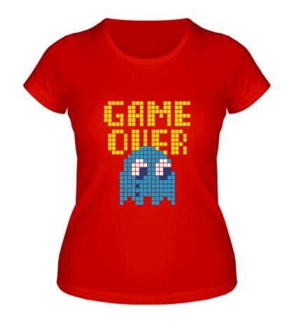 Женская футболка Pixel Game Over