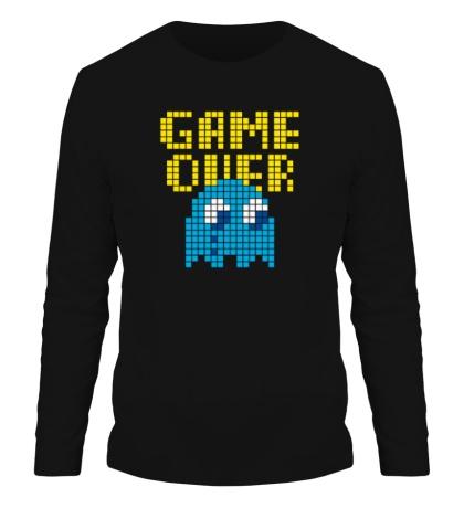 Мужской лонгслив Pixel Game Over