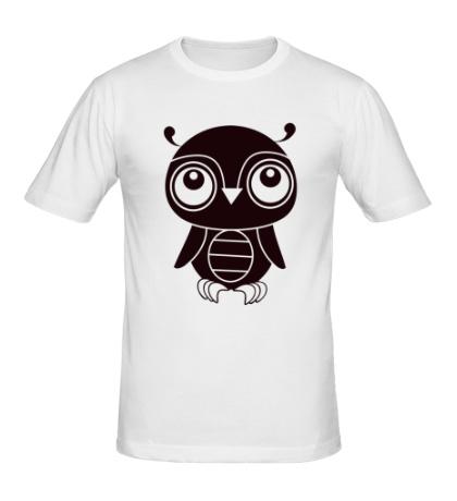 Мужская футболка Маленький совенок