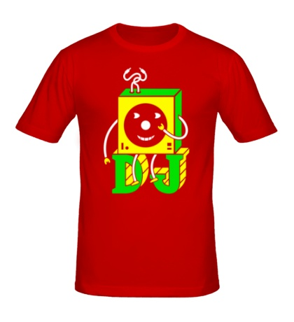 Мужская футболка DJ Vinyl