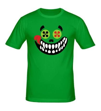 Мужская футболка Зубастый смайл