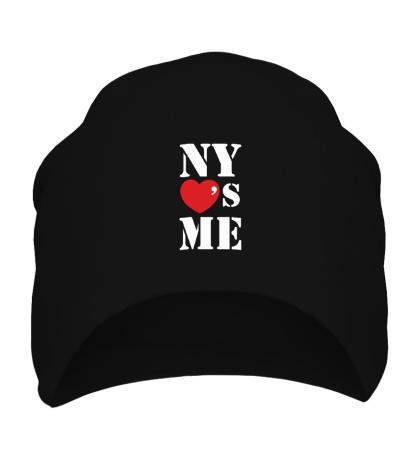 Шапка NY Loves Me