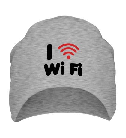 Шапка I love Wi Fi