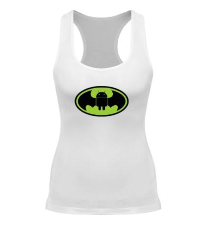 Женская борцовка Android-Batman