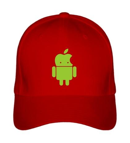 Бейсболка Андроид яблокоголовый