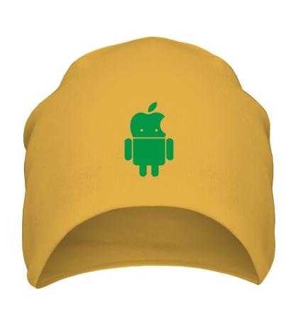 Шапка Андроид яблокоголовый