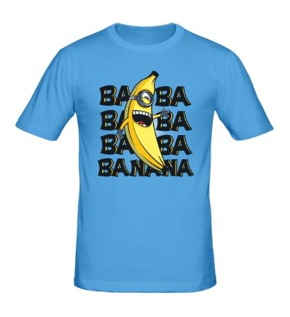 Мужская футболка Банановый миньон