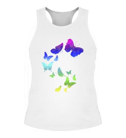 Мужская борцовка Влюбленные бабочки