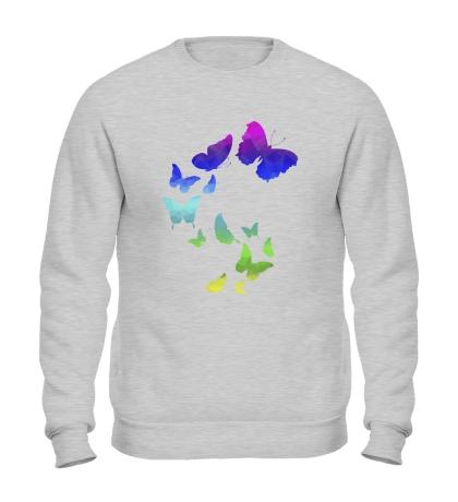 Свитшот Влюбленные бабочки