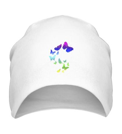 Шапка Влюбленные бабочки