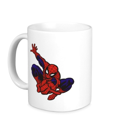 Керамическая кружка Fast Spider-Man