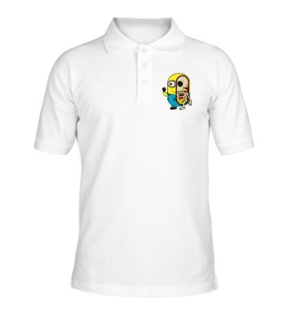 Рубашка поло Миньон в разрезе